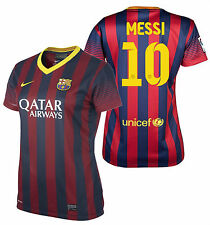 NIKE LIONEL MESSI FC BARCELONA WOMEN'S HOME JERSEY 2013/14