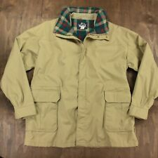 vtg usa made WOOLRICH jacket coat 2XL XXL wool lined 70s 80s 90s tan parka sheep
