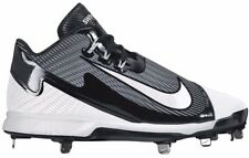 NEW Mens NIKE SWINGMAN LEGEND MID sz 11.5 BLACK White Baseball Cleats Metal Shoe