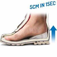 Einlegesohlen 5 cm in 1sec größer Silikon Einlagen Schuhe Sportschuhe 5 Stufen x