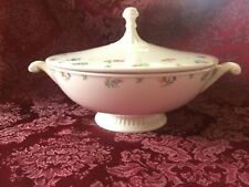 Harmony House Serving Bowl with Lid Made in USA by Hall China Vintage