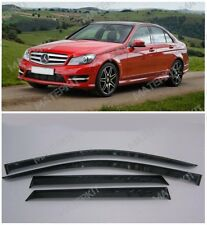 For Mercedes-Benz C w204 | 2006-2014 Deflectors Windows Visors Rain Vent Guard