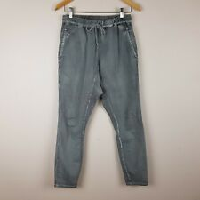 Seed Heritage Drop Crotch Jeans Pants Grey Size 8