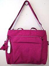 Kipling Kyler Baby Bag TM5327 Color 691 Flamingo Pink NWT