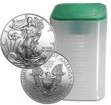 Roll Of 20 2010 $1 Silver American Eagles 1 oz Coins BU