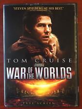 War of the Worlds (DVD, 2005, Full Frame) - D1015