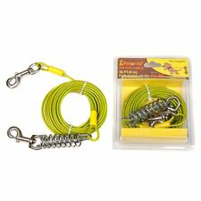 Favorite Tie Out Cable for Dogs, 30-feet, 7 X 7 X 3 inches, Green
