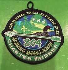 2013 Lodge 804 Charter Member Spring Induction Gaming Maangogwan