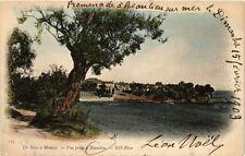 CPA de NICE a MONACO Vue prise a BEAULIEU-sur-MER (375298)