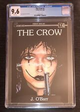 THE CROW #1 (1ST SOLO ISSUE) CGC 9.6! ❄️ ❄️ WHITE PAGES! Copper key!