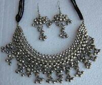 Metal Beaded Jewelry Necklace Choker Boho Tribal Vintage Gypsy Hippie new