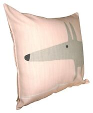 Scion Mr Fox Blush Pink Cushion Cover 12''