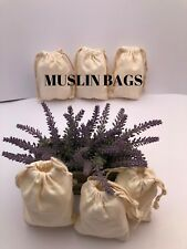 6x10 inch 100% COTTON Ecofriendly Canvas Double Drawstring bags~25,50,100,200