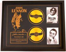 New John Lennon CD Memorabilia Framed