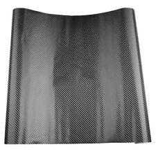 3D Carbon Fiber Vinyl Car Vehicle Window Wrap Sheet Film Sticker Decal 1270 F6XD
