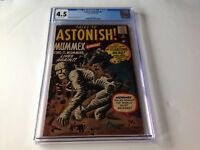 TALES TO ASTONISH 8 CGC 4.5 MUMMEX KING OF MUMMIES STEVE DITKO ATLAS COMICS