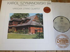 ADW 7118 szymanowski Stringa QUARTETTI N. 1 & 2/varsovia String Quartet