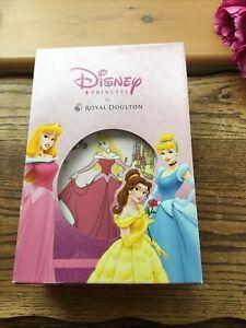 Disney Princess Royal  Doulton 3 piece set Sleeping Beauty BNIB mug plate bowl
