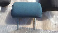 nissan almera 2000 - 2005 rear head rest x1 in green blue