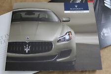 2013 MASERATI QUATTROPORTE World Premiere brochure Prospekt catalogue 920028090
