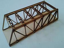 Laser Cut N Gauge Road Bridge Braced Girder Bridge Kit 3mm MDF 18cms Long