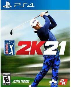 PS4 - Pga Tour 2K21 - sony PLAYSTATION 4