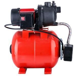 1.6 HP Shallow Well Garden Pump 1000GPH W/Booster System & Pressure Tank 1200W
