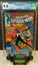 THE AMAZING SPIDER-MAN #252 CGC 9.4 1984 1ST APPEARANCE OF BLACK COSTUME NM
