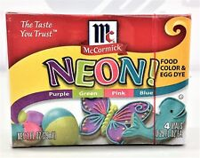 McCormick Neon Assorted Food Color & Egg Dye 4 pack