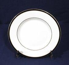 "Minton Fine Bone China SATURN Black Royal Doulton Salad Plate 8-1/8"""