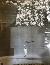 """WILLIE MAYS SIGNED AUTO AUTOGRAPHED 16x19 1/4 SAY HEY AUTHENTICATED """"THE CATCH"""""""