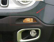 For Jeep Renegade 2014-2018 ABS Chrome running Day Light Lamp Cover Trim