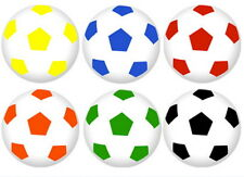 24 Super Soccer Ball Bouncy Party Favors 1 inch Birthday Superballs New Football