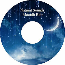 Pure Natural Sounds Relaxing Moonlit Rain CD Relaxation Help Sleep Stress Relief