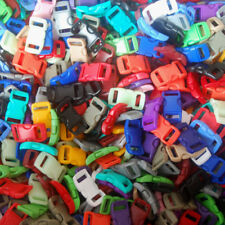 "40 3/8"" Curved buckle for Paracord Bracelet Mix 12+ Colors DIY ~ Clasps Clips"