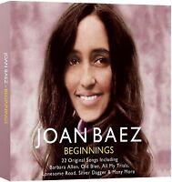 Joan Baez - Beginnings - CD - BRAND NEW SEALED 22 Original Songs - FOLK