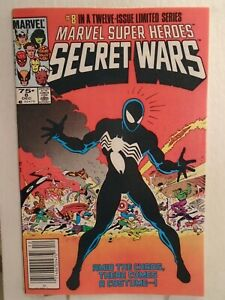 MARVEL SUPER HEROES SECRET WARS #8 (1984) Origin Symbiote/VENOM 9.6/9.8 COPY!
