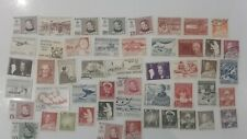 More details for 50 different greenland stamps collection