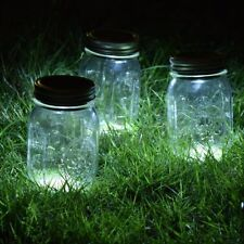 Solar Mason Jar Lid Insert LED Mason Jar Solar Light For Glass Mason Home Decor