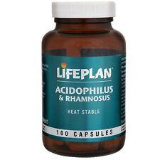 Lifeplan Acidophilus & Rhamnosus (100 Capsules)