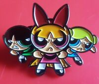 The Powerpuff Girls Pin Gaming Enamel Metal Brooch Badge Lapel Cosplay
