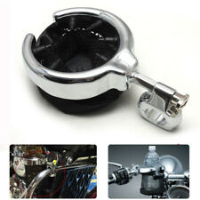 Handlebar Cup Holder Universal Motorcycle Metal Drink Holder Fit Harley Chrome