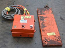 Perrce Industrial metal detector system was used with large drum chipper
