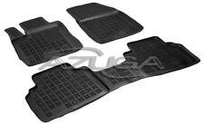 3D Gummi-Fußmatten für Ford Transit/Tourneo Courier ab 2014 Hohe Gummimatten