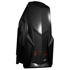 Aerocool BattleHawk Case Middle Tower Black Pc Tower Cabinet ATX/micro Mini ATX