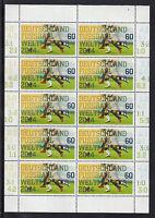 A 31 ) Germany 2014 ** - Germany football World Champion Sheet 10 MNH Stamps