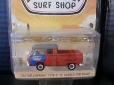Greenlight VW Volkswagen Double cab Truck with Surfboards 1/64 Die Cast