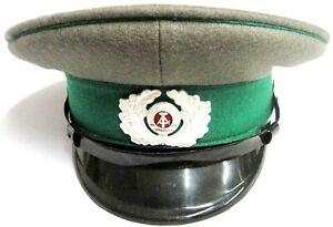 NVA Schirmmütze Grösse 54 Grenztruppen der DDR Uniform-Artikel 13.August 1961