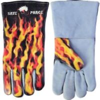 New Save Phace PPE Welding Gloves Apparel Gear - Fired Up