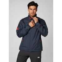 Helly Hansen Crew Midlayer Fleece Lined Waterproof Jacket 30253/994 Graphite